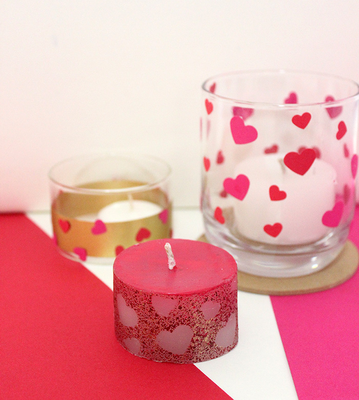 3 DIY Valentines Day Candle Ideas