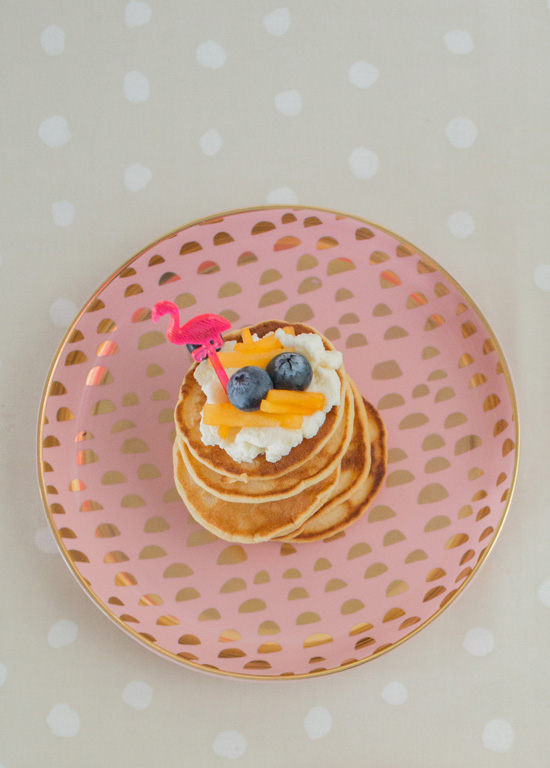 7 Start Of The Year DIYS To Try! Mini Pancakes by Oh Joy