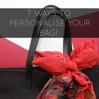 7 Ways To Personalise Your Bag! by The Craftables