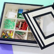 DIY 9 Compartment Custom Stationery Box Set!
