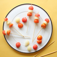 Easy To Make Fruit Kabob Skewers and Stirrers!