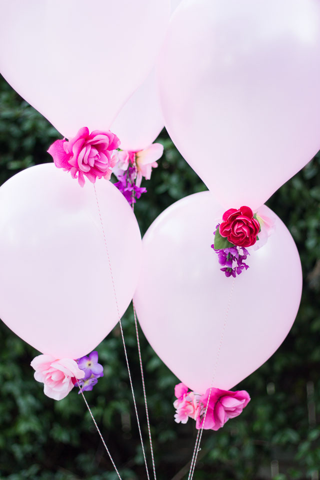 flower decoration balloons