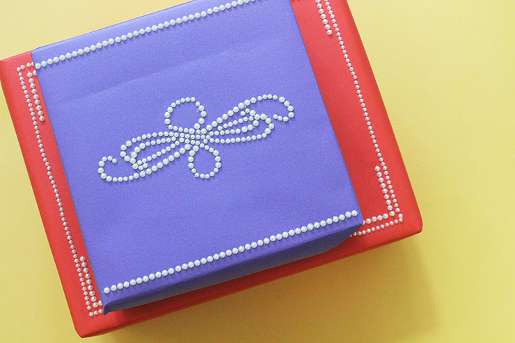 pearl gift wrap