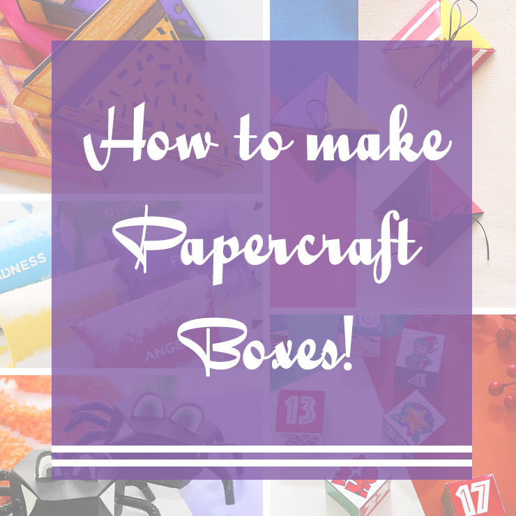 How to make paper craft boxes