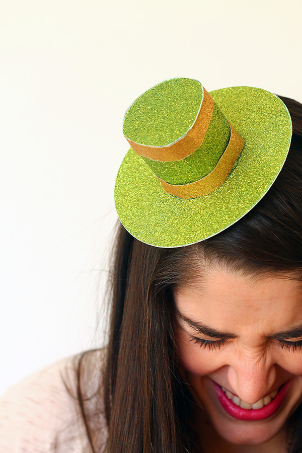 st patricks top hat top