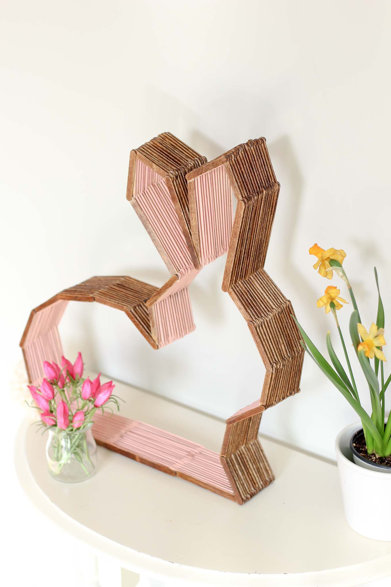 DIY Nursery Decor Easter Bunny