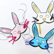 DIY Easter Bunny Mask Craft for Kids