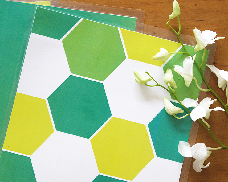 honeycomb table placemats