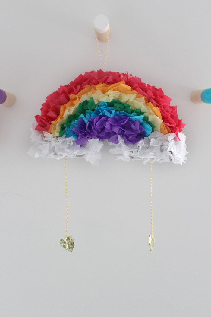 rainbow pinata craft