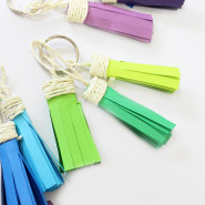 How To Make Handmade Tassel Keychains At Home!