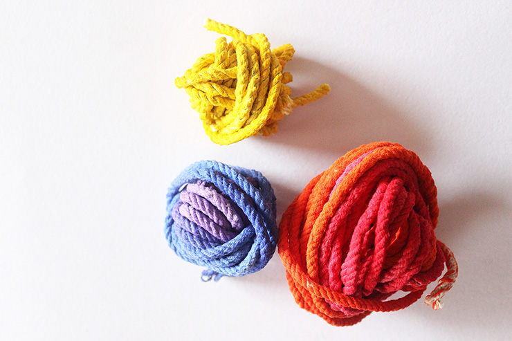 Vibgyor rope for rainbow workshop