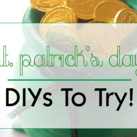 St. Patrick's Day DIYs To Try