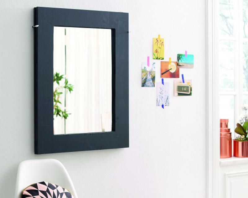 diy folding table mirror