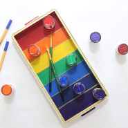 How to make a Rainbow Tray!