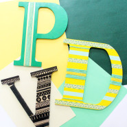 3 Simple Alphabet Wall Decoration Ideas!