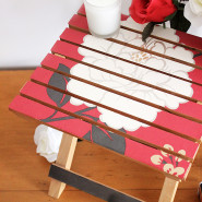 DIY Upcycled Stool!
