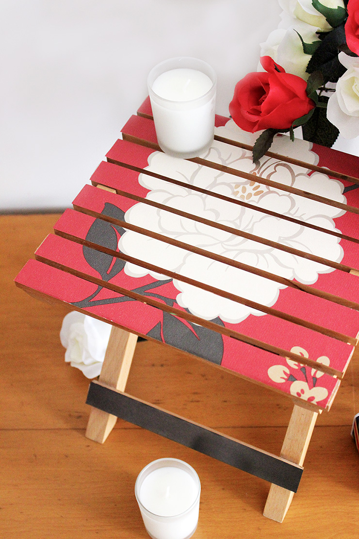 DIY Customised stool cover