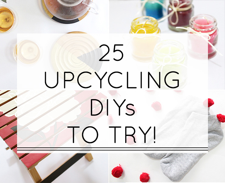 25 Easy Diy Recycled Craft Ideas The Craftables