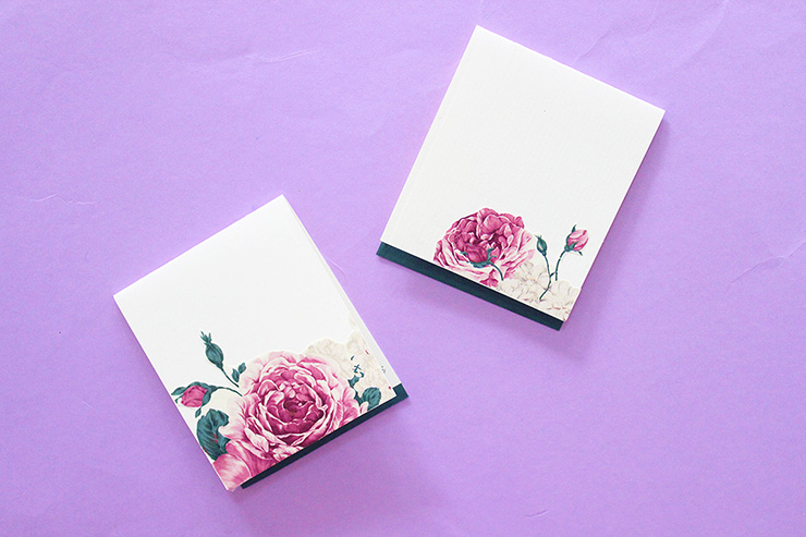 floral DIY Gift Tags