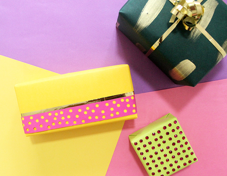How to Gift Wrap Small Gifts