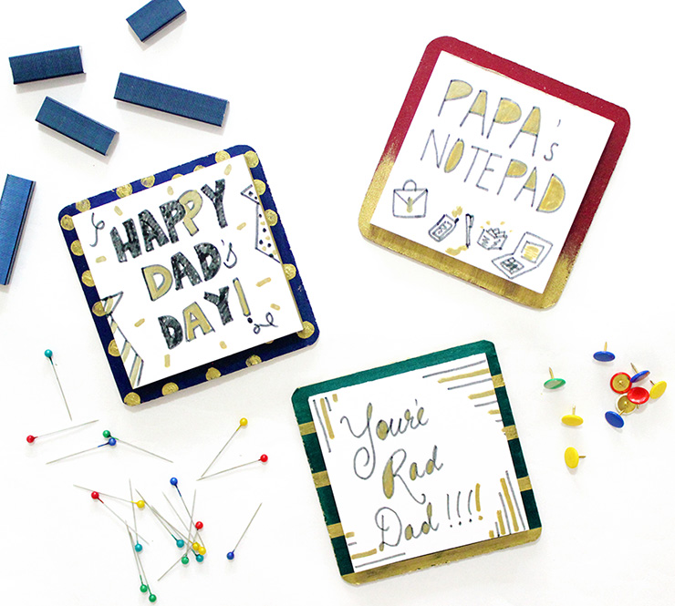 notepads for fathers day
