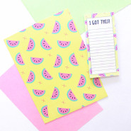 What We Made – Customised Stationery!