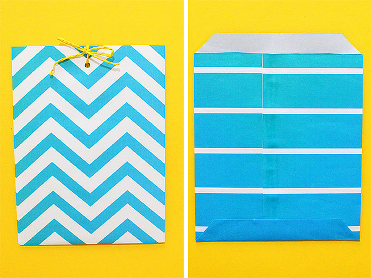 DIY paper bag tutorial