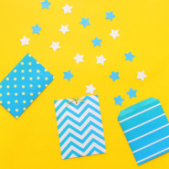 How To Make Paper Bags + Printable Wrapping Paper!
