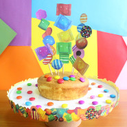 Candy Crush Cake Stand and Topper!