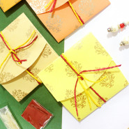 Handmade Rakhi Envelopes!