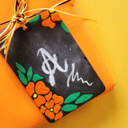 DIY Chalkboard Tags!