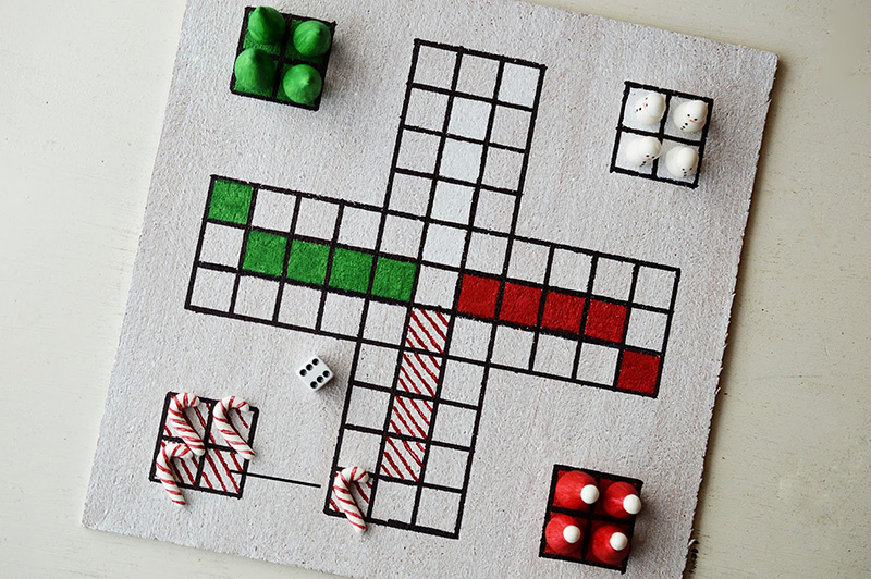 Christmas Ludo by Mottes Blog