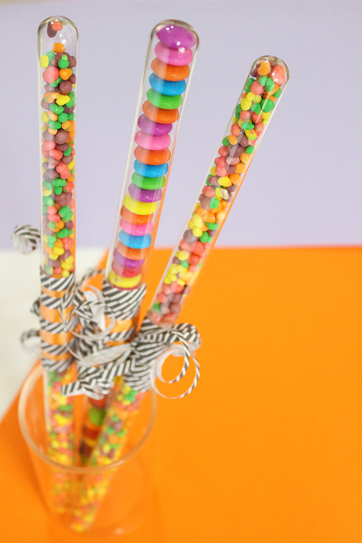 DIY Candy Wands for Halloween
