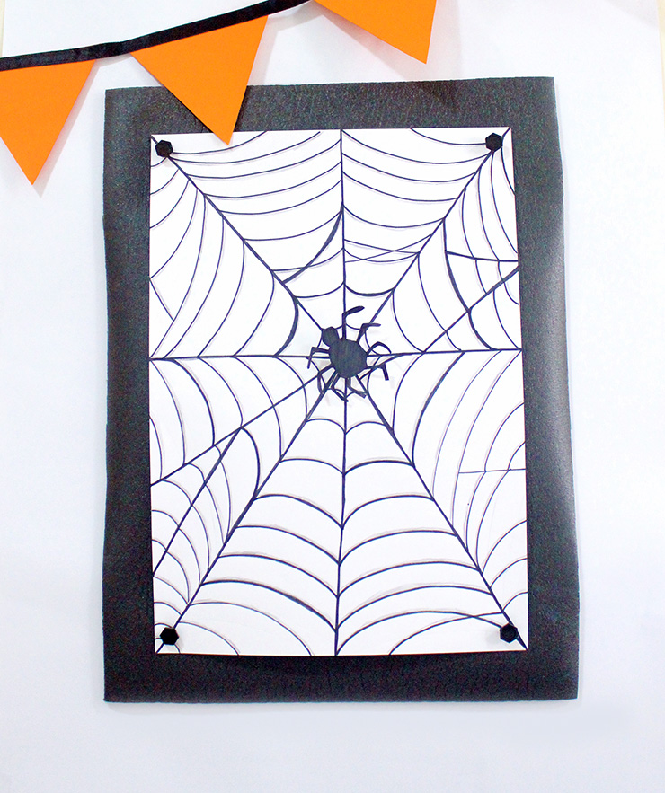 DIY Hallowee spider games