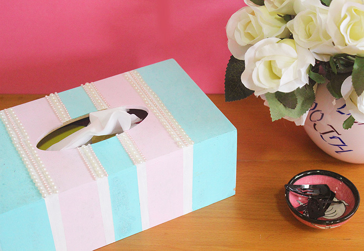 DIY tissue box