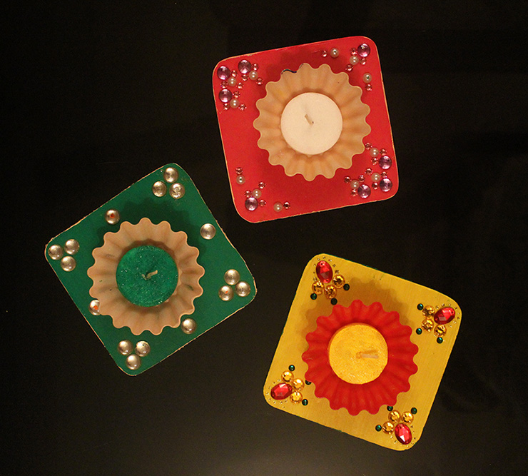 Diwali Candles holders