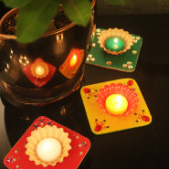 DIY Tea Light Holders For Diwali!