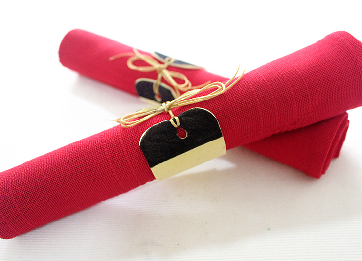Holiday Napkin Rings To Make