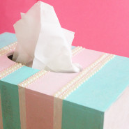 Pretty in Pastels Tissue Box