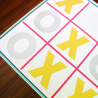 How to make a giant x's and o's board