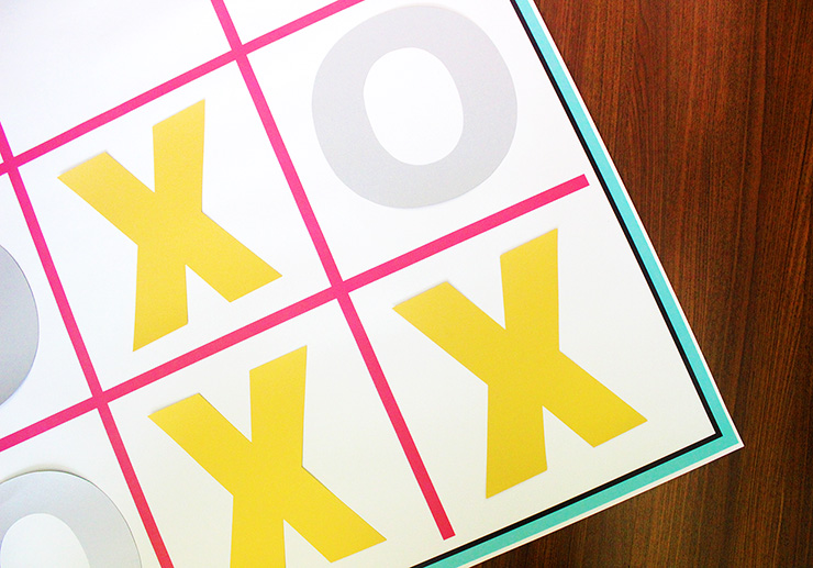How to make a x's and o's board
