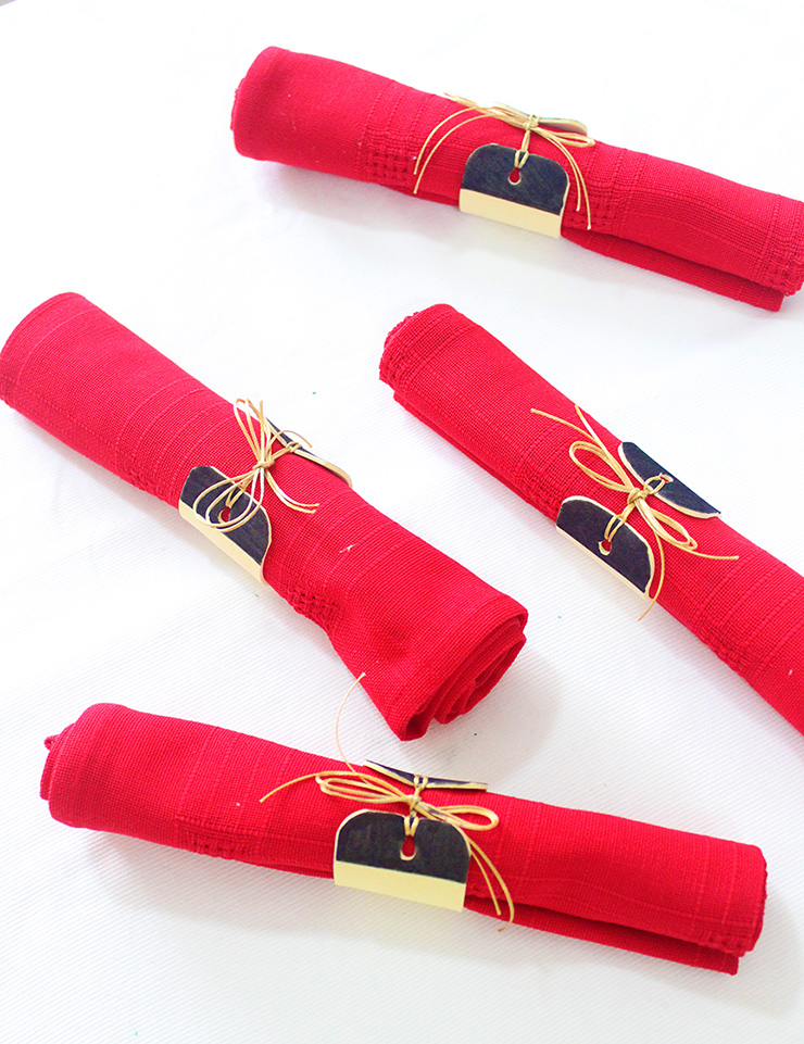 Napkin Rings Craft Idea