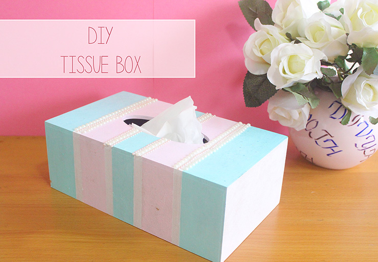 diy tissue box craft