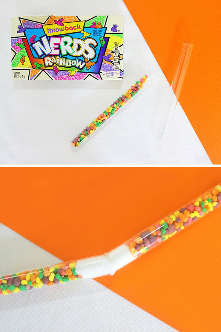 steps for making candy wands