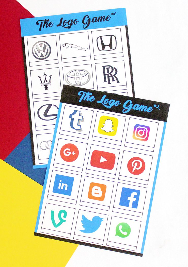 Logos Printable Party Game