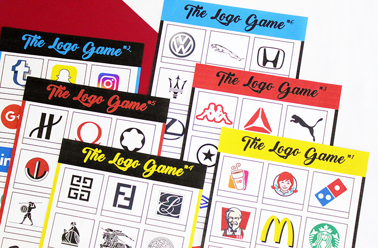 logo game print out