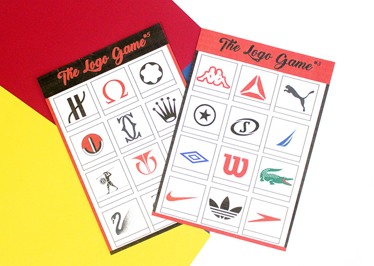 logo game printable