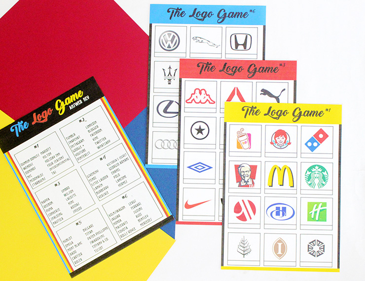 printable logo game
