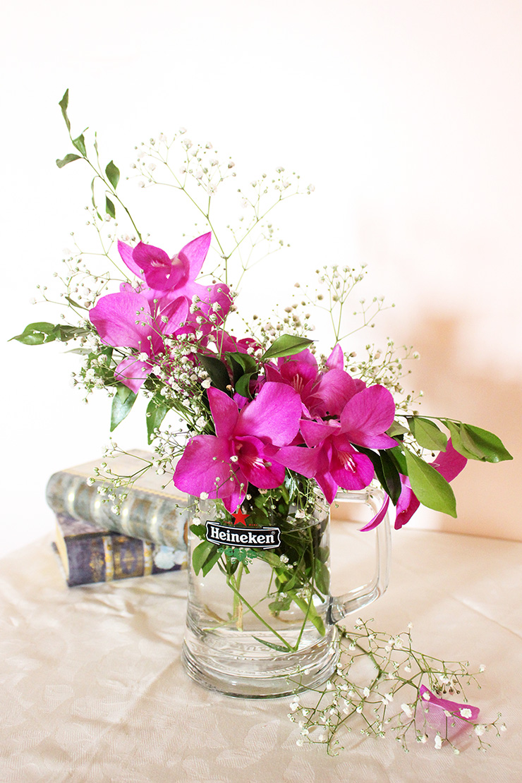 Easy Diy Flower Arrangement Ideas For Home The Craftables