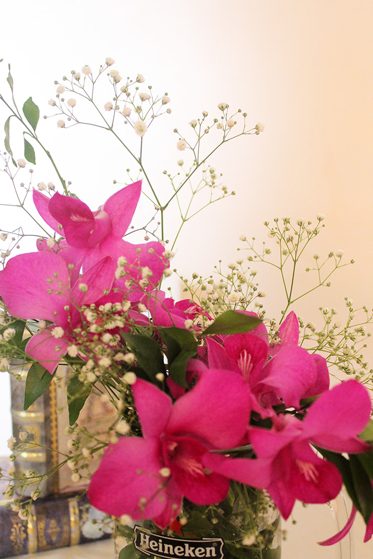 Simple flower arrangements for home